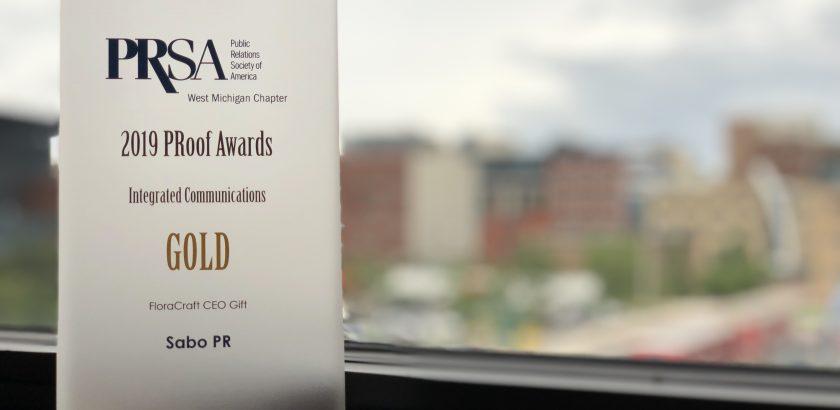 FloraCraft & Sabo PR win Public Relations Award